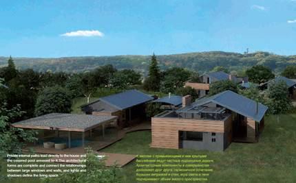 Проект коттеджного городка Gree Tree